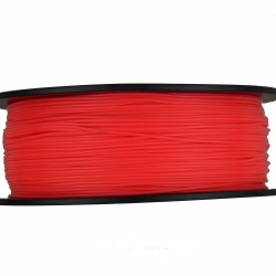 3D Filament 1,75 mm PLA FLUORES rot 1000g 1kg