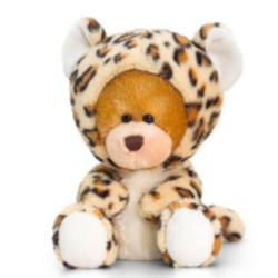 Keel Toys Pipp The Bear als Leopard verkleidet 14cm Bár